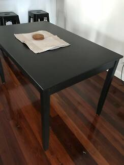 4 seater lerhamn IKEA dining table near new condition