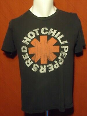 Red Hot Chili Peppers - Logo - Vintage T-shirt - Black - M (Red Hot Chili Peppers-logo)