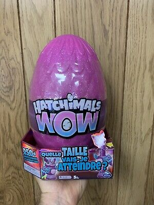 Hatchimals WOW Llalacorn 32-Inch Tall Interactive Re-Hatchable Egg (Vary Styles)