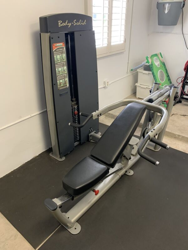 Body solid weight machine DPRS-sf ( S2MP)designed for bench and military press