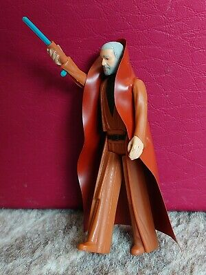 vintage star wars figures Obi Wan Kenobi 1977 First 12 Original Cape Complete