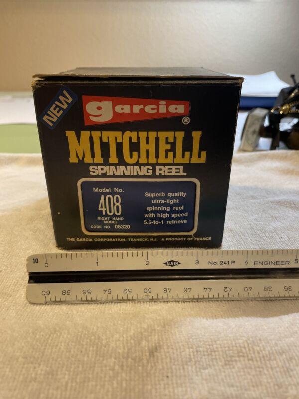 garcia mitchell 408 spinning Old fishing reel 29