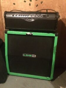LINE6 spiderIIamp+cab with footswitch PRICE DROP