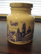 German Mustard Jar
