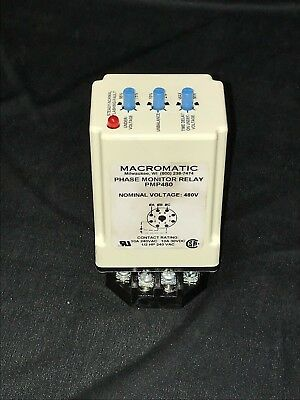Macromatic Pmp480 Phase Monitor Relay