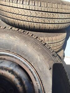 4 X 5 stud wheels and tyres Dungog Dungog Area Preview