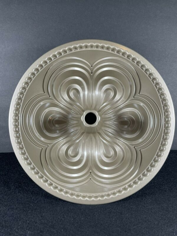 Nordic Ware Chiffon Bundt Pan 10 Cups Gold Cake Pan