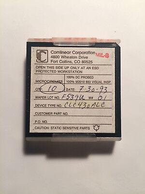 Clc430alc Comlinear Spc Circuit Current Feedback Operational Amplifier 10units
