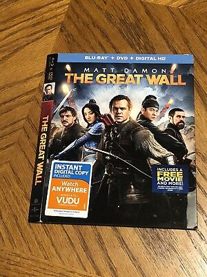 The Great Wall Blu-ray/Dvd Slipcover Only