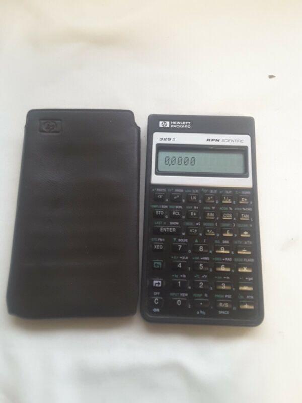 HP Hewlett Packard 32S RPN Scientific Calculator With Soft Case 293121258