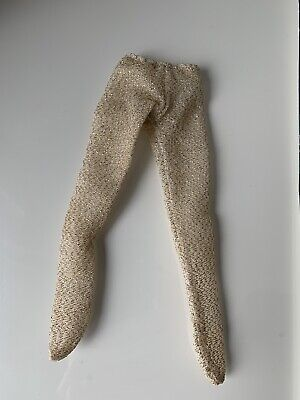 Jem and the Holograms Doll Gold Tights. Fit 12 Inch Doll Vintage Dolls Clothes