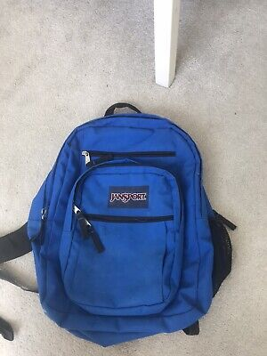 jansport backpack blue. Brand New Perfect Condition. Larger Version.