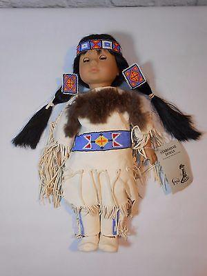 Starshine Doll Lakota Sioux Dances w/ the Wind Leather & Hand Beading Gotz Puppe