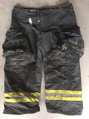 Firefighter Janesville Lion Apparel Turnout Bunker Pants 44x28 07 Black Costume