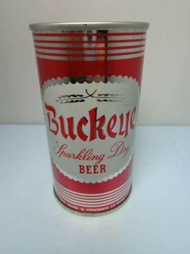 BUCKEYE STRAIGHT STEEL PULL TAB BEER CAN #47-14  MEISTER BRAU CHICAGO, ILLINOIS