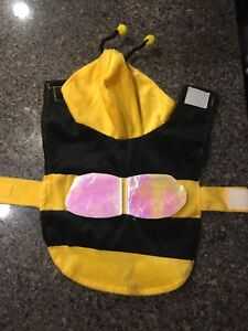 BUMBLE BEE DOG COSTUME SIZE SMALL