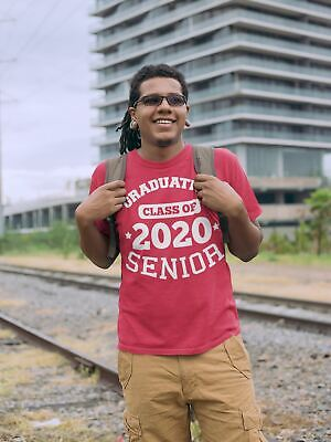 Men's Graduating Class 2020 Senior T Shirt Graduation Gift Idea Graduate Shirt G