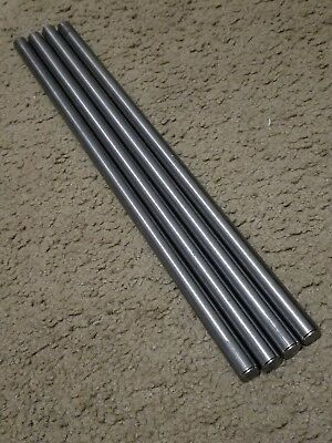 4pcs 916 Dia X 11.75 Long Grade 5 Round Titanium Rods Same Day Shipping Usa