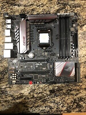 i7 6700k with Asus Rog Maximus VIII Gene Micro atx motherboard