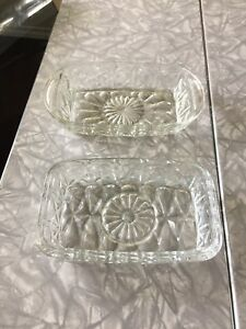 Crystal candy/nuts dishes