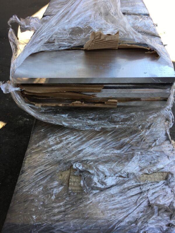 "Aluminum Flatbar 6063 T6 1/2"" x 12"" x 24"""