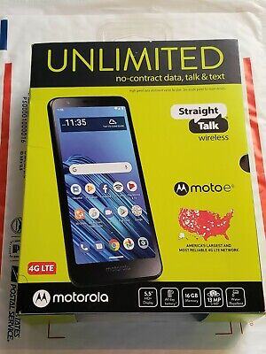 Straight Talk Motorola Moto e6 - Brand New Priority Mail