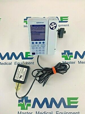 Baxter Sigma Spectrum Infusion Iv Pump Warranty Accessories Tested Battery