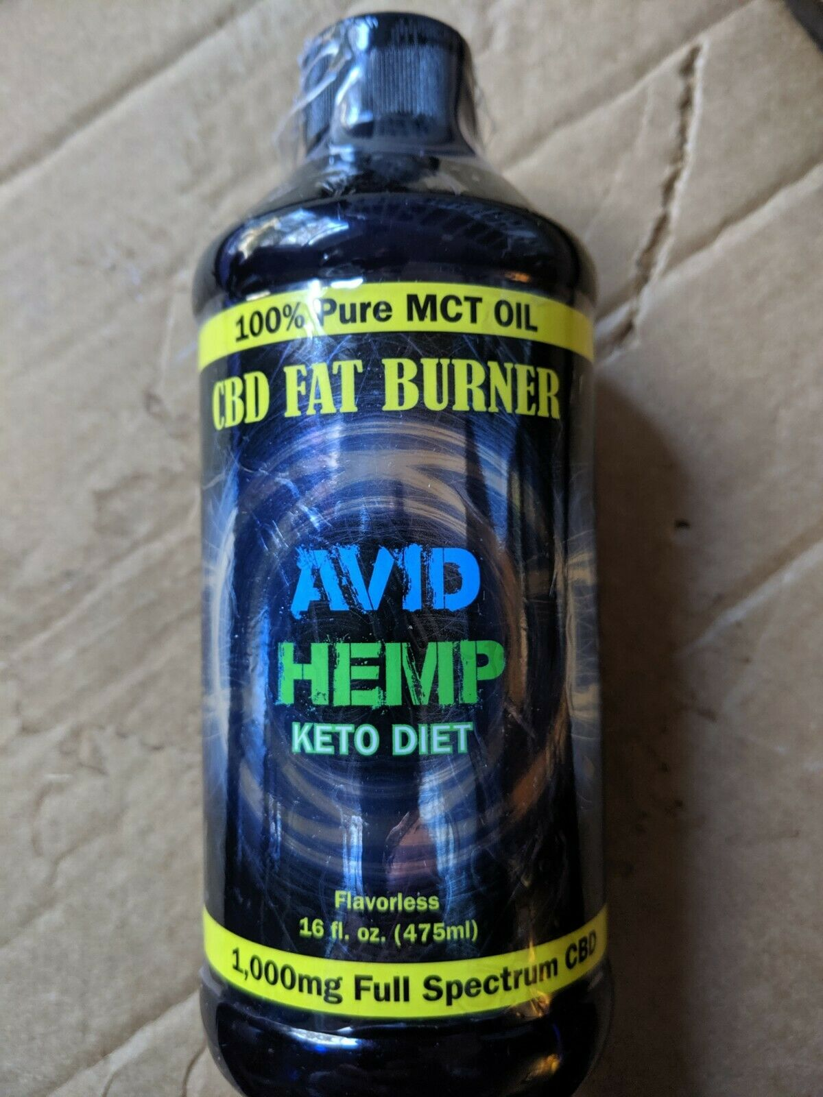 Hemp mct oil 1000 mg