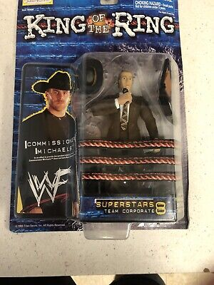 WWF wrestling action figure shawn michaels king of the ring