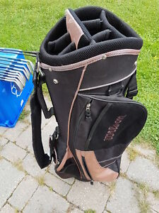 Golf Bag, clubs and cart