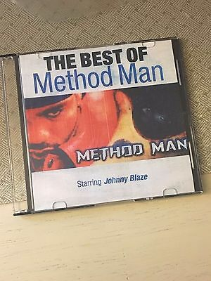 DJ Mister Cee The Best of Method Man CLASSIC NYC Mixtape Mix CD WU TANG Hip