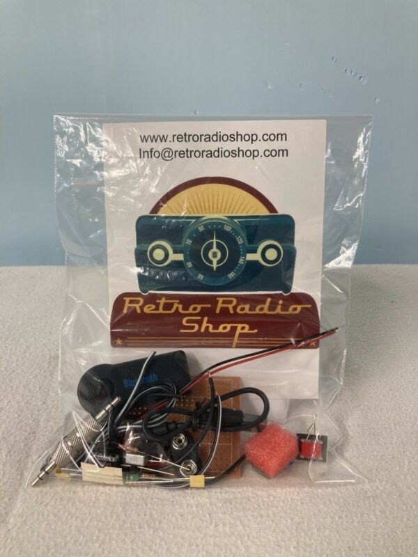 AM Transmitter Kit For Vintage Retro Or Antique Tube Radio. With Bluetooth.