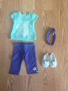American Girl retired tropical bloom outfit