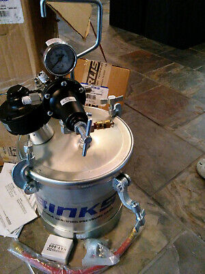 Binks- Asme 2 12 Gal. Agitated Pressure Paint Spray Tank Pot 83c-211