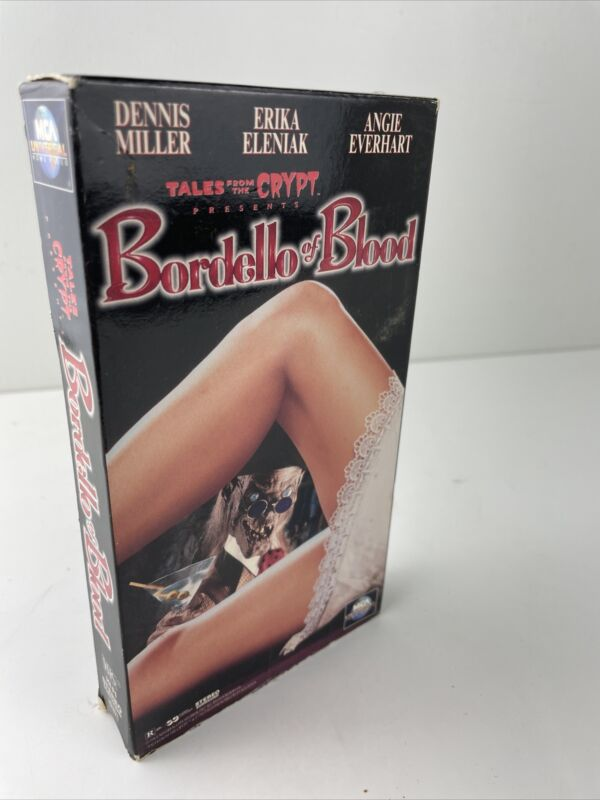 Tales From The Crypt : Bordello of Blood (VHS 1996) Horror Vampire Dennis Miller