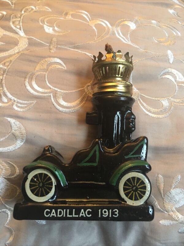 Miniature oil lamp, AMCO Imports, Japan 1966,  1913 cadillac