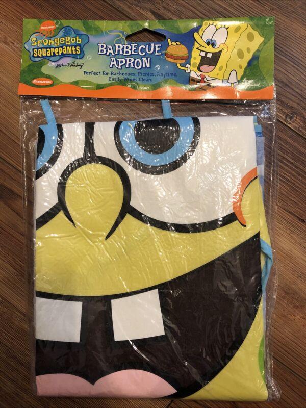 SpongeBob Squarepants Barbecue Apron Nickelodeon 2004 #45047