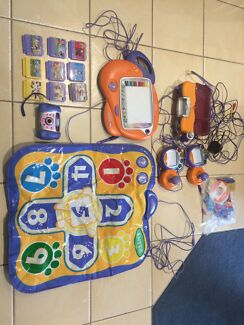 Vtech Console and games