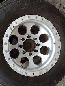 Tires and rims 8 lug