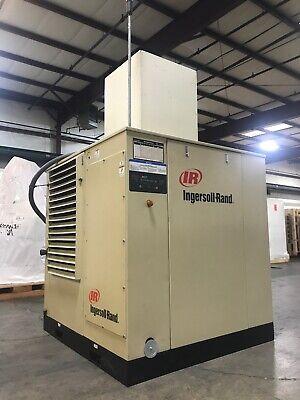 Ingersoll Rand Ssr-ep75 Rotary Screw Air Compressor 75hp 332cfm 125psi 460v