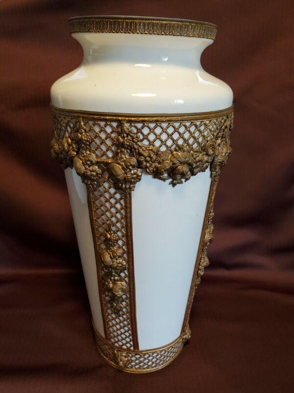 Large Ornolu Vase