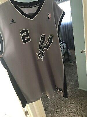 Adidas NBA Jersey San Antonio Spurs Kawhi Leonard Grey sz Xl