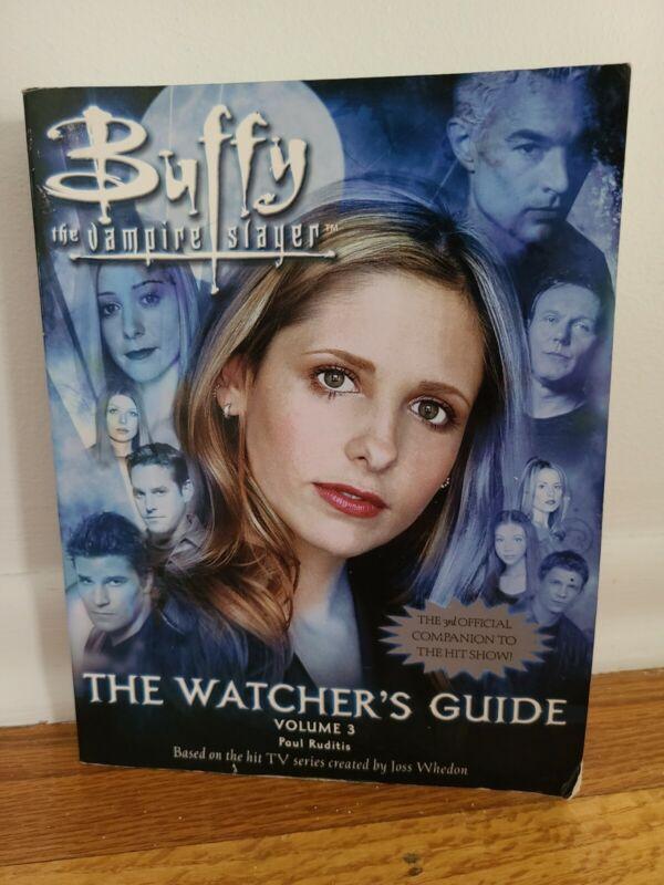 Buffy The Vampire Slayer, The Watchers Guidebook Volume 3. 1998
