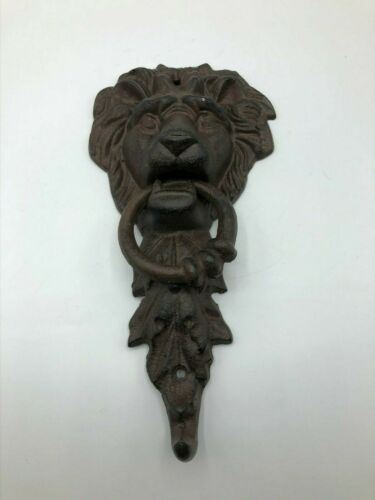 Cast Iron Lion Gothic Door Knocker  N7