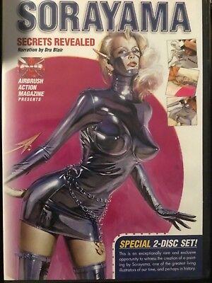 Sorayama Secrets Revealed Dru Blair Paint DVD by Airbrush Action Createx - Airbrush Paint Dvd
