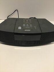 Bose Wave Radio CD Player Alarm Clock AWRC-1G Black Excellent Condition!
