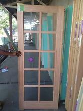 Corinthian Windsor 10 Panel Glass External Door (Lot: 273) St Marys Penrith Area Preview