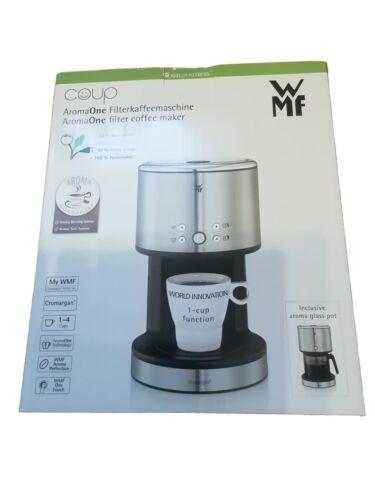 WMF Küchenminis Aroma One 1Tasse Kaffeemaschine, mit Glaskanne,...NEU