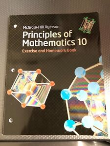 Principles Of Mathematic 10 | Great Deals on Books, Used