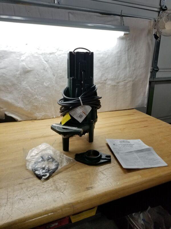 Submersible Effluent Pump,1-1/2hp,8.9A ZOELLER F188